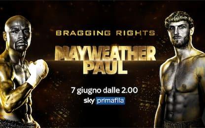 Mayweather torna sul ring contro Logan Paul