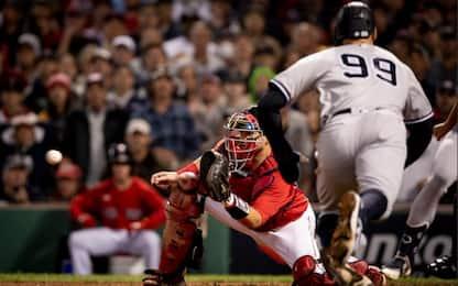 Mlb, Boston elimina gli Yankees