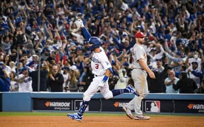 Mlb, Dodgers passano contro i Cardinals