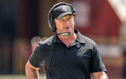 Razzismo e omofobia: Jon Gruden lascia i Raiders