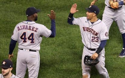 Mlb, Atlanta e Houston più vicine a World Series