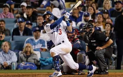 Mlb, Dodgers battono Atlanta con super Taylor