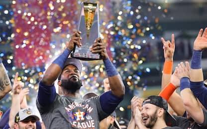 Astros di nuovo alle World Series con Air Yordan