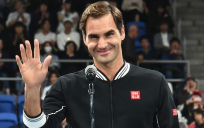 "Tennis, Federer : ""Andrò a Tokyo 2020"""
