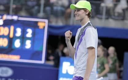 Sinner non si ferma più: semifinale ad Anversa