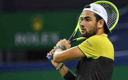 Bercy: Berrettini, ostacolo Nadal. Il tabellone