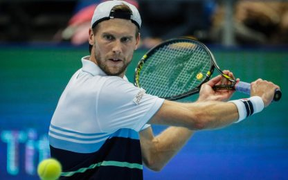 Seppi, occasione sprecata: out al 2° turno a Bercy