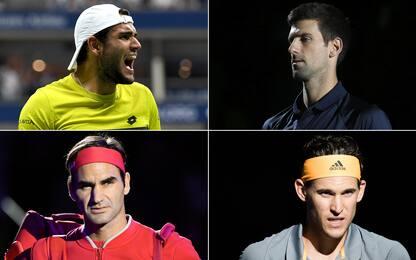 Berrettini e le Finals: i precedenti coi rivali