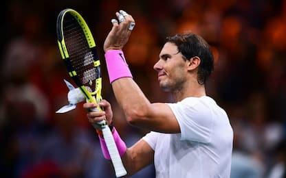 """Nadal ko, ma va a Londra: """"Voglio giocare Finals"""""""