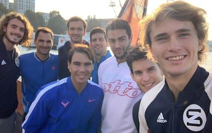 Tutte le ATP Finals su Sky: la guida tv