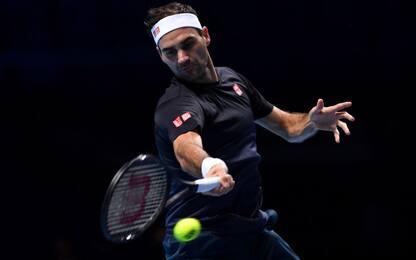 """Federer: """"Finals, chance anche per Berrettini"""""""