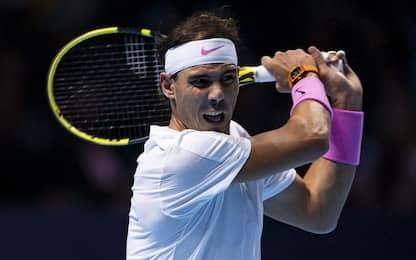 Finals, le partite di oggi: Nadal in campo alle 15
