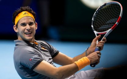 Thiem in semifinale: sarà spareggio Nole-Federer