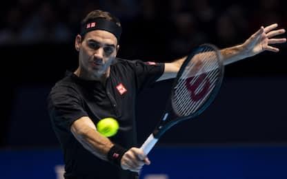 Finals, alle 21 lo spareggio Federer-Djokovic