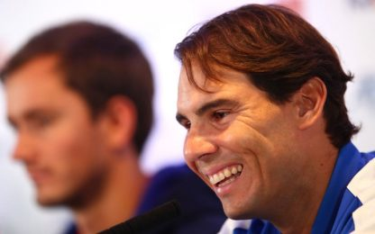 La lezione di Nadal in conferenza. VIDEO
