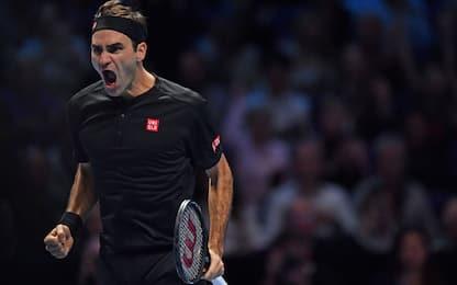 Rivincita Federer: elimina Djokovic dalle Finals