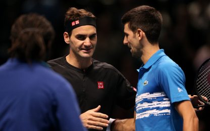 "Federer: ""Wimbledon alle spalle, serata perfetta"""