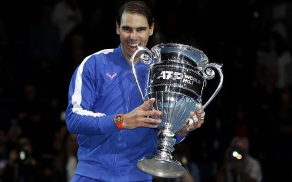 ATP ranking: Rafa n° 1, otto italiani nei Top 100