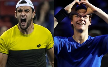 ATP Awards, Berrettini e Sinner tra i candidati