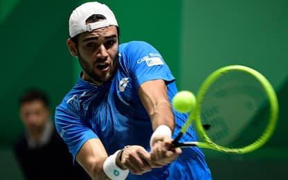ATP Cup, forfait di Matteo Berrettini