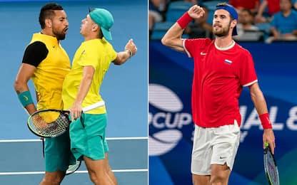 ATP Cup, Australia e Russia in semifinale