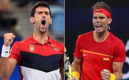 ATP Cup, sarà super finale Djokovic-Nadal