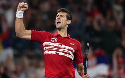 Super Nole, la Serbia vince l'ATP Cup. Spagna ko
