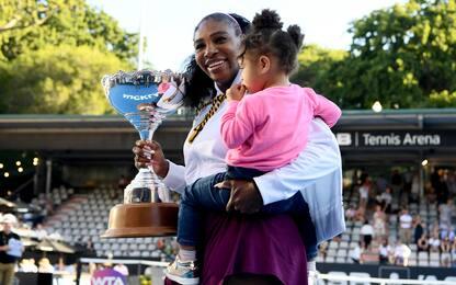 Serena vince ad Auckland: primo trionfo da mamma