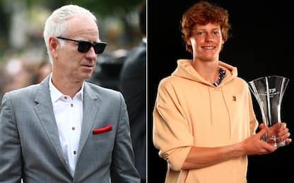 """McEnroe esalta Sinner: """"Può vincere tanti Slam"""""""