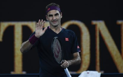 Melbourne, esordio sul velluto per Federer