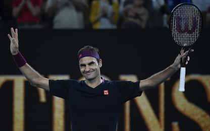 Melbourne, Federer vola al 3° turno. Djokovic ok