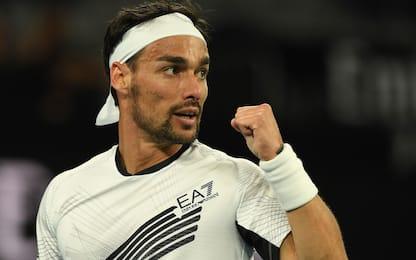 Fognini domina Pella: è agli ottavi degli Aus Open
