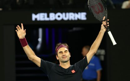 Miracolo di Federer: il Re agli ottavi a Melbourne
