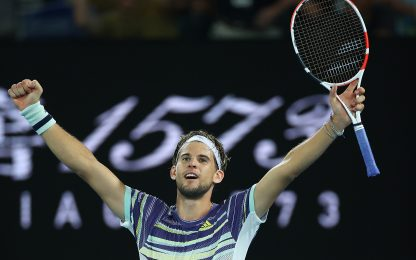 Aus Open: Thiem in finale, Zverev battuto in 4 set