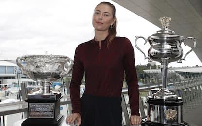 """Sharapova si ritira: """"Dico addio al tennis"""""""