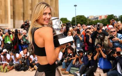 """Sharapova, la carriera di una """"Dea"""" del tennis"""