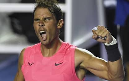 Acapulco, Nadal in semifinale: ora c'è Dimitrov