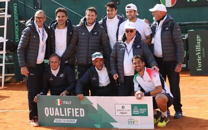 Davis, Italia alle Finals: Corea battuta 4-0