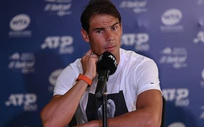 """Nadal: """"Triste per cancellazione Indian Wells"""""""
