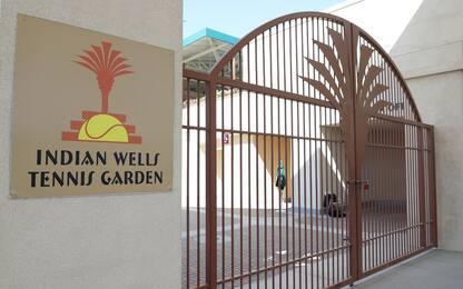 Indian Wells chiuso per coronavirus. FOTO