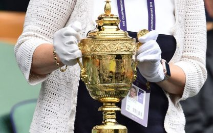 "Wimbledon a rischio: ""l'anziana"" Coppa racconta"