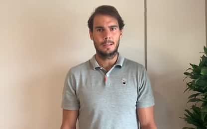 """Nadal: """"Sportivi, è arrivata l'ora di sdebitarci"""""""