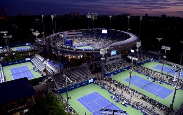 NEW YORK, NEW YORK - AUGUST 27:  A general view of the grounds on day two of the 2019 US Open at the USTA Billie Jean King National Tennis Center on August 27, 2019 in the Flushing neighborhood of the Queens borough of New York City. (Photo by Steven Ryan/Getty Images)