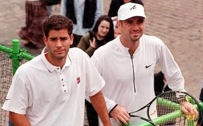 Agassi, Sampras e i magnifici anni '90 del tennis
