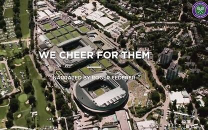 Wimbledon, lettera ai medici con voce di Federer