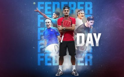 "Domenica su Sky Sport Arena è ""Federer Day"""