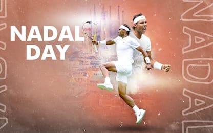 "Auguri Rafa, oggi su Sky Sport Arena è ""Nadal Day"""