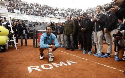 Internazionali di Roma, la entry list: c'è Nadal