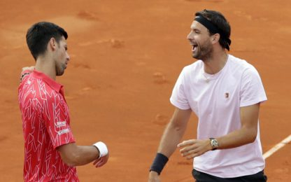 "Papà Djokovic: ""Dimitrov ha portato il virus"""