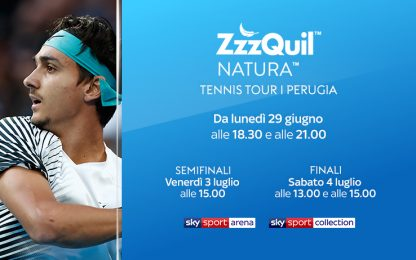 ZzzQuil Tennis Tour Perugia: la guida tv